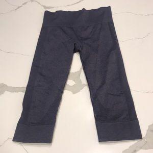 Lululemon Awakening pant in grey/blue color.